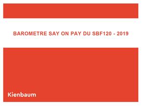 Sayonpay SBF 120 2019